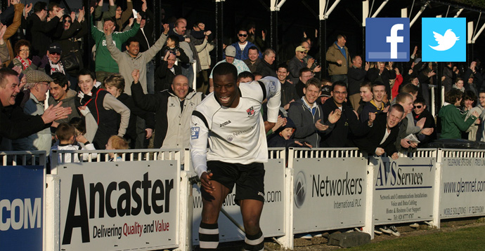 Bromley FC - Facebook and Twitter - Get Social