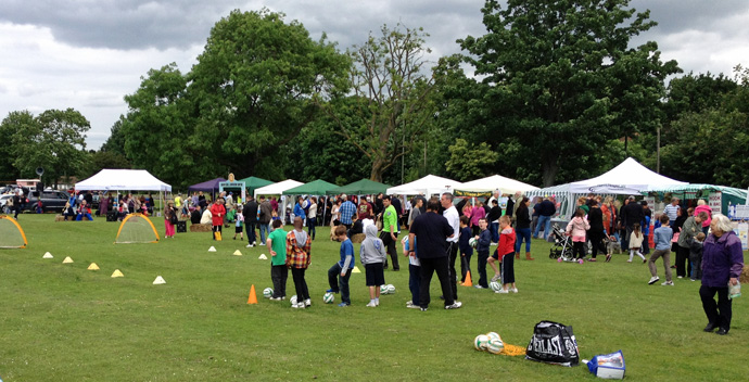 Bromley FC and Harris HospisCare Summer Fair 2012