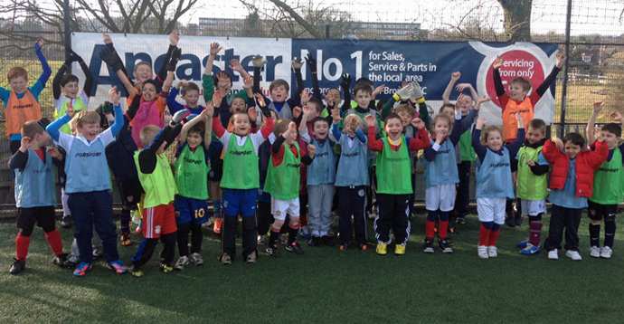 Soccer School coaching Bromley Football Club