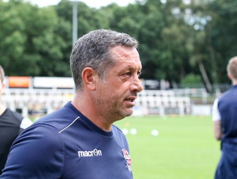Bromley FC Manager Neil Smith - Bromley Football Club Hayes Lane - Image copyright http://www.edboydenphotos.co.uk/