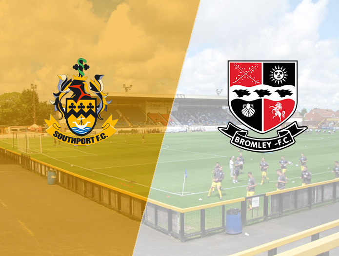 Southport v Bromley - Saturday 1st October 2016 - Vanarama National League