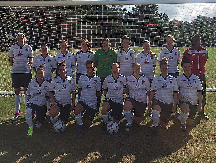 Bromley Football Club Ladies Team / Womens Team 2016/17