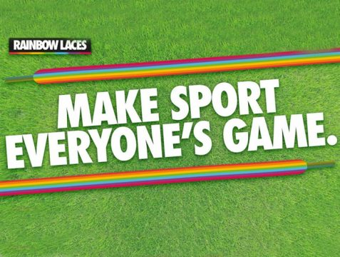 Bromley FC back Stonewall's Rainbow Laces Campaign