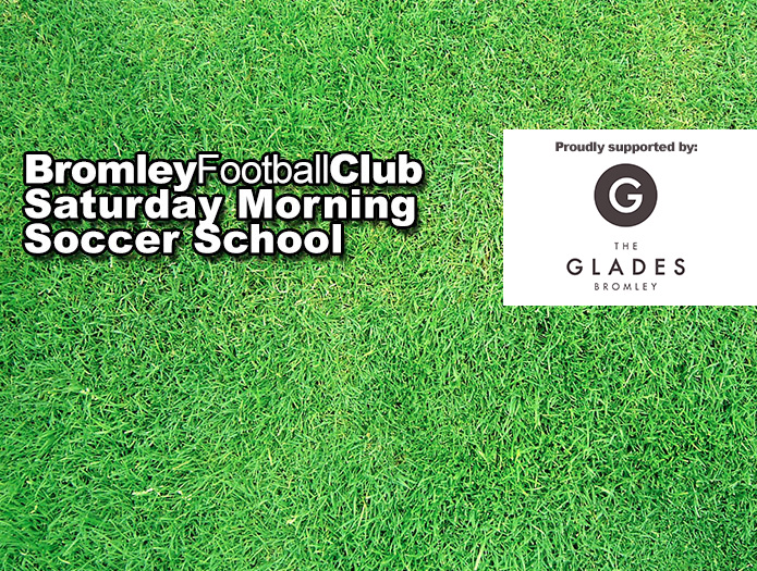 Bromley FC Saturday Morning Soccer School is back!