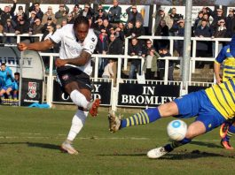 Hanlan loan at Bromley FC extended for further month by Charlton Athletic