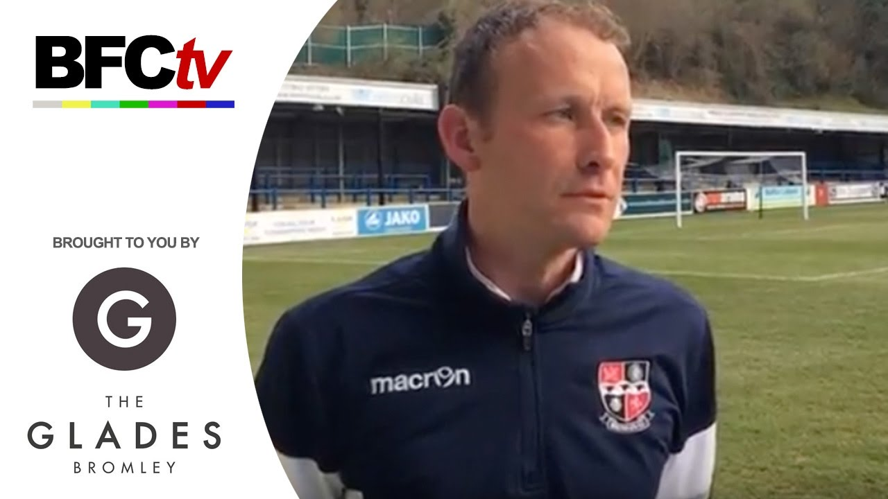 Interview glyn shimell on the defeat at dover bromley for The bromley