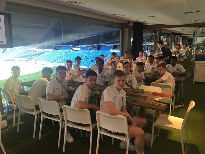 Bromley Football Club at Real Madrid