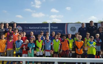 Fun in the sun for local kids at Bromley Football Club