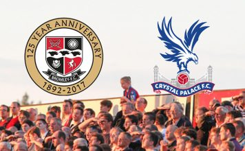 Bromley FC Family Day Sat 29th July: Bromley v Crystal Palace XI