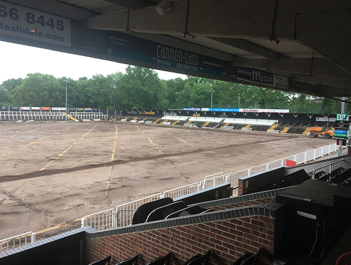 Bromley FC 3G Stadium Pitch Update