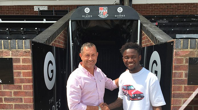 Luke Wanadio becomes latest Bromley FC signing