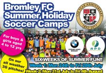 Kids Summer Soccer Camps at Bromley Football Club