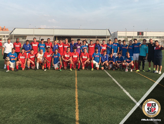 On Tour: Bromley FC Academy update from Spain