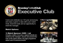 Bromley FC Executive Club