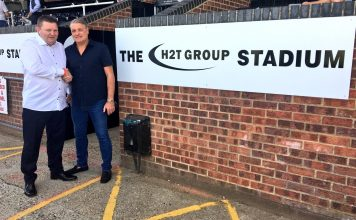 The H2T Group Stadium Bromley FC