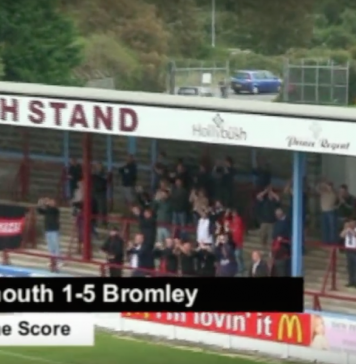 On This Day: 5th Sept 2009 – Weymouth 1-5 Bromley