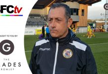 Interview: Neil smith on the Emirates FA Cup 0-0 draw at Dover