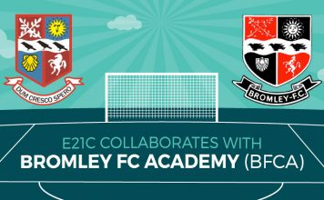 E21C collaborates with Bromley FC Academy