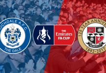 Rochdale v Bromley Emirates FA Cup First Round