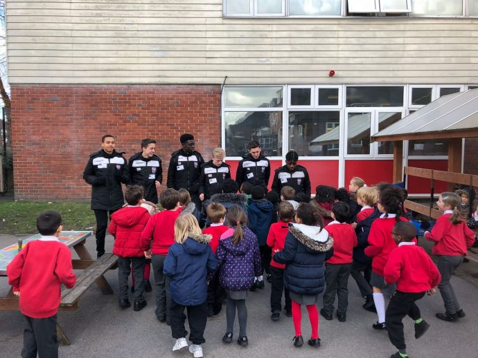 Bromley FC at St Marks Primary School