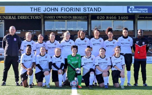Bromley Ladies FC supported by The H2T Group Stadium
