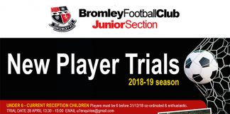 Bromley FC New Player Trials