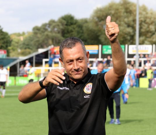 Bromley FC Manager Neil Smith