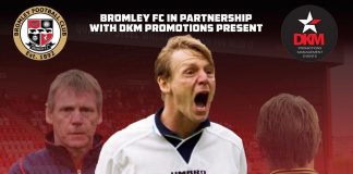 An evening with Stuart Pearce at Bromley FC