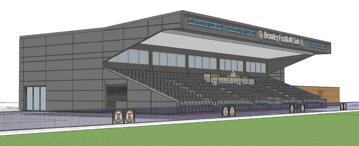 Regeneration of the Main Stand at Bromley FC