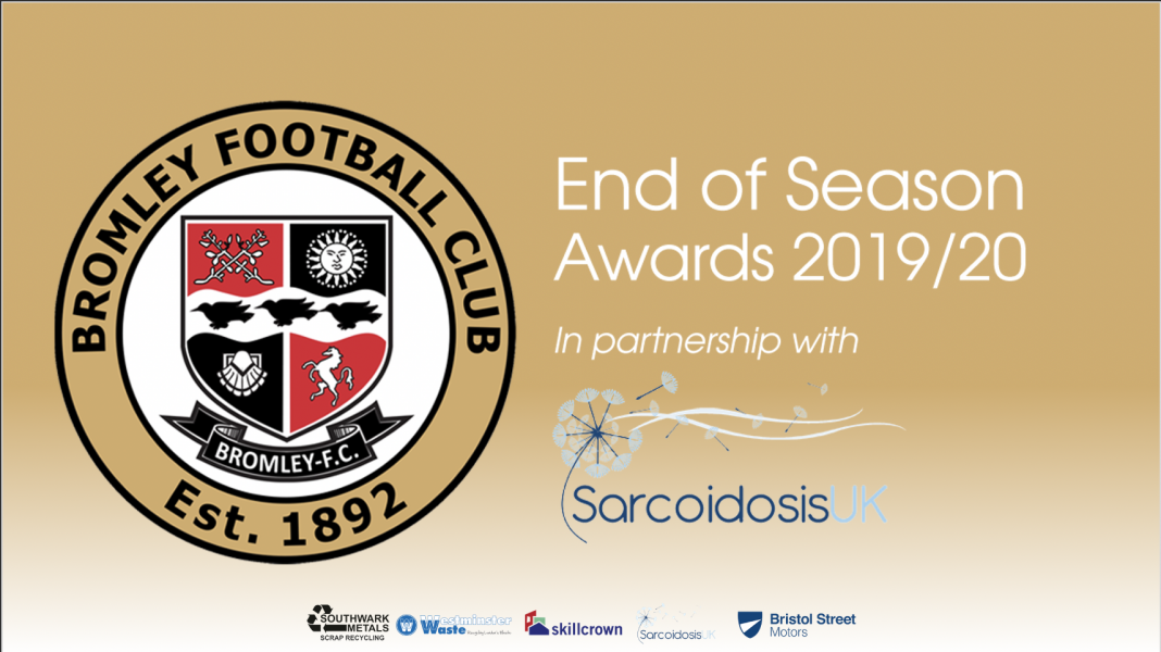 Bromley FC Awards Evening 2019/20