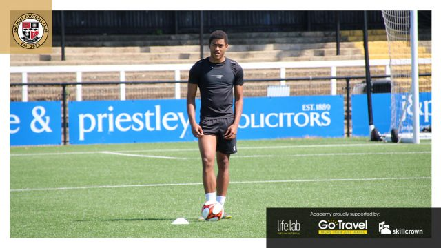Bromley FC Academy Return in pictures