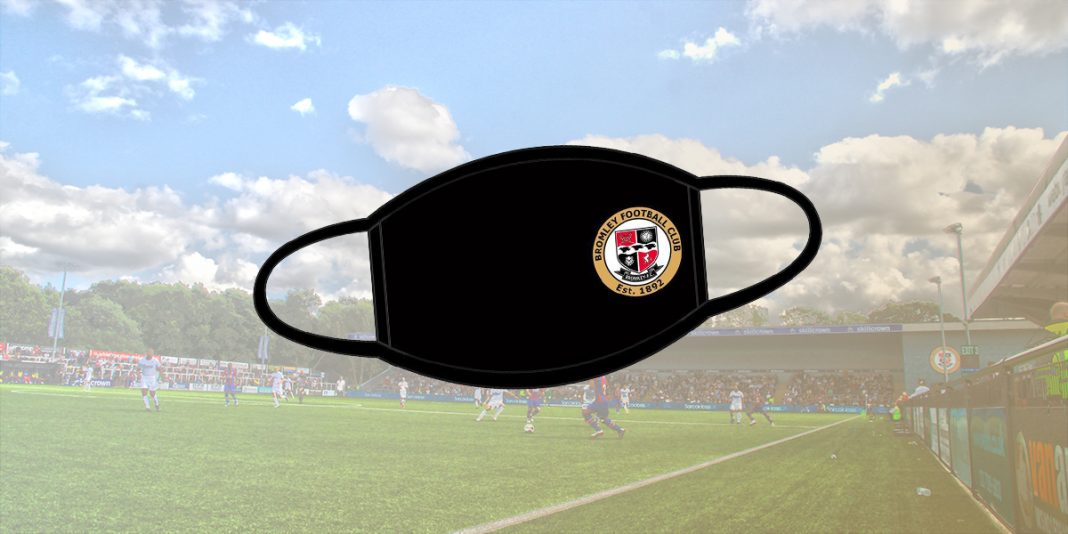 Bromley FC face covering