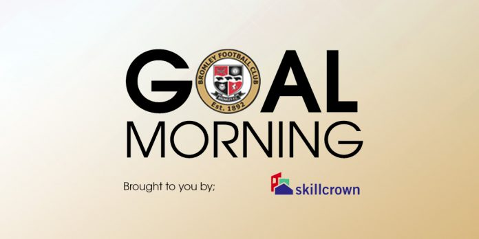 Goal Morning - A goal every day of the week