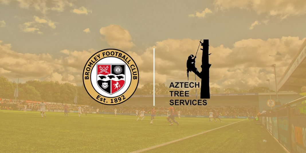 Aztech Tree Services become latest sponsor at Bromley Football Club